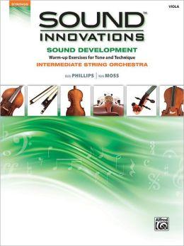 Sound Innovations for String Orchestra -- Sound Development: Viola