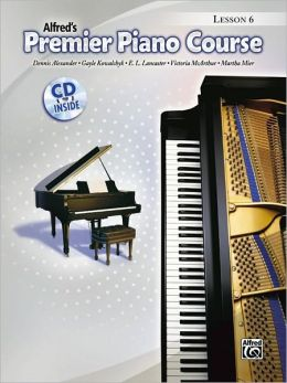 Premier Piano Course Lesson Book, Bk 6: Book & CD