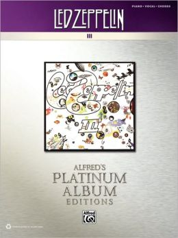 Led Zeppelin III Platinum: Piano/Vocal/Chords