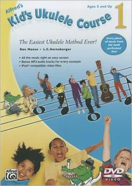 Kid's Ukulele Course 1: The Easiest Ukulele Method Ever!, DVD
