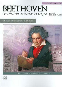 Sonata No. 26 in E-flat Major, Op. 81a: Das Lebewohl