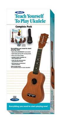 Alfred's Teach Yourself to Play Ukulele, C-Tuning: Everything You Need to Start Playing Now!, Book, CD, DVD & Ukulele Boxed Set