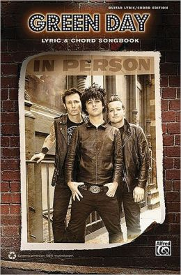 Green Day -- Lyric & Chord Songbook