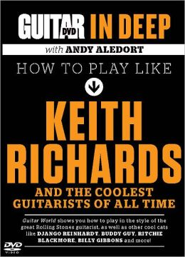 Guitar World in Deep: How to Play in the Style of Keith Richards: DVD