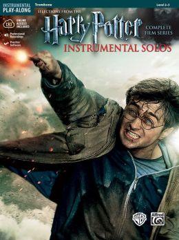 Harry Potter Instrumental Solos: Trombone, Book & CD