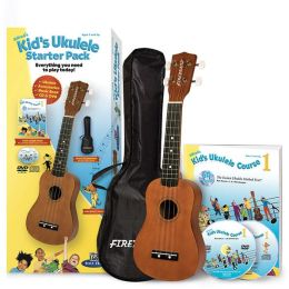 Alfred's Kid's Ukulele Course 1 Starter Pack: Everything You Need to Play Today!, Book, CD, DVD & Ukulele Boxed Set
