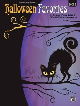 Halloween Favorites, Bk 2: 11 Original Piano Solos by Alfred and Myklas Composers