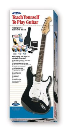 Alfred's Teach Yourself to Play Guitar Complete Electric Pack: Everything You Need to Start Playing Now!, Book, CD, DVD, CD-ROM & Electric Guitar