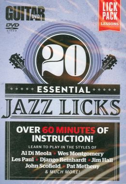 Guitar World -- 20 Essential Jazz Licks: Over 60 minutes of instruction!, DVD