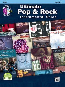 Ultimate Pop Instrumental Solos: Flute, Book & CD