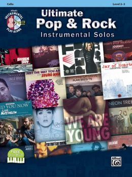 Ultimate Pop Instrumental Solos for Strings: Cello, Book & CD
