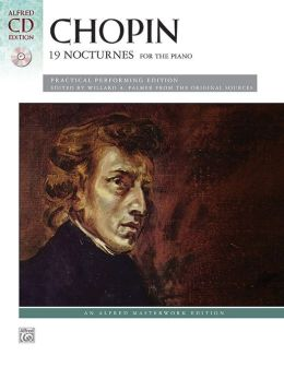 Chopin -- 19 Nocturnes: Book & CD
