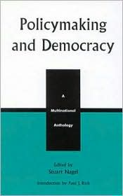 PolicyMaking and Democracy: A Multinational Anthology