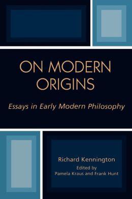 On Modern Origins
