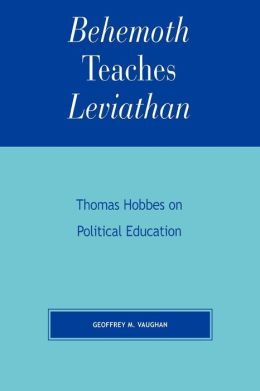 Behemoth Teaches Leviathan