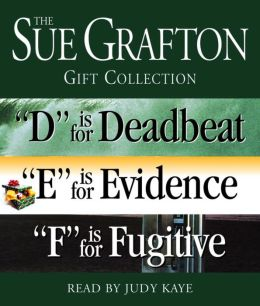 The Sue Grafton DEF Gift Collection: D is for Deadbeat, E is for Evidence, F is for Fugitive
