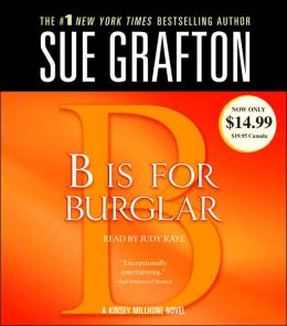 B Is for Burglar (Kinsey Millhone Series #2)