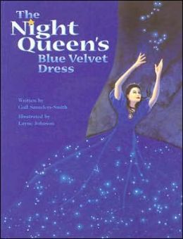 The Night Queen's Blue Velvet Dress