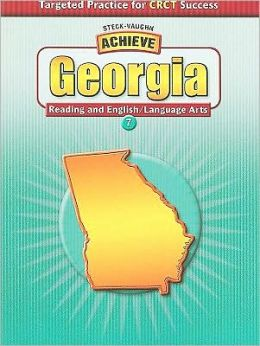 Achieve Georgia English/Language Arts Grade 7: Targeted Practice for CRCT Success (Student Edition)