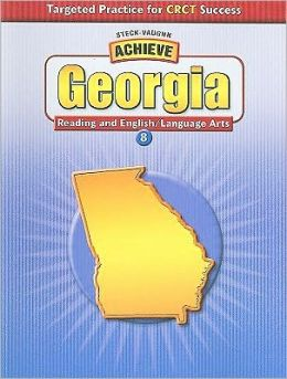 Achieve Georgia English/Language Arts Grade 8: Targeted Practice for CRCT Success (Student Edition)