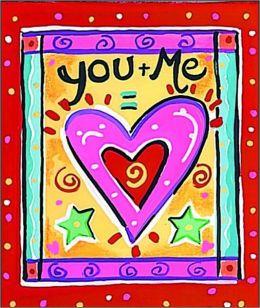 You + Me = Heart Symbol