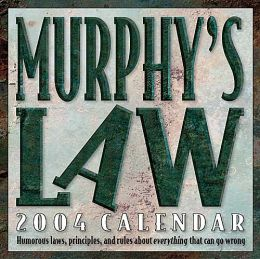 2004 Murphy's Law Daily Boxed Calendar