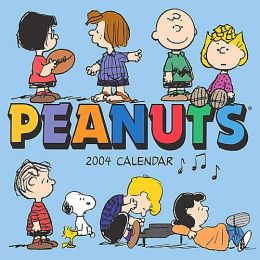 2004 Peanuts Mini Wall Calendar