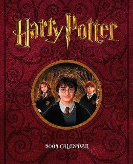 2004 Harry Potter Movie Weekly Engagement Calendar