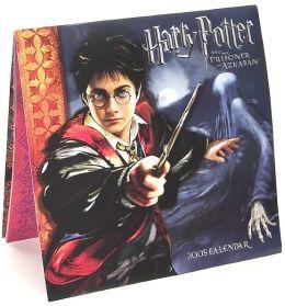 2005 Harry Potter Movie Wall Calendar