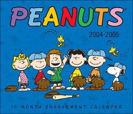 Peanuts: 2005 16-Month Engagement Calendar