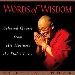 2005 Words of Wisdom Box Calendar
