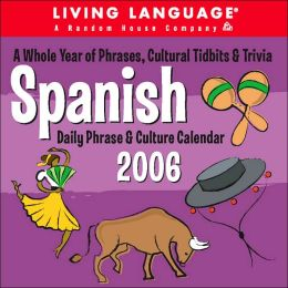 2006 Spanish Living Language Box Calendar