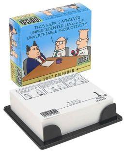 2007 Dilbert Box Calendar