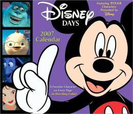 2007 Disney Days Box Calendar