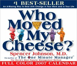 2007 Who Moved My Cheese? Box Calendar