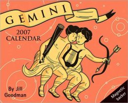 2007 Horoscope- Gemini Mini Box Calendar