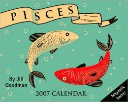 2007 Horoscope- Pisces Mini Box Calendar