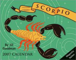 2007 Horoscope- Scorpio Mini Box Calendar