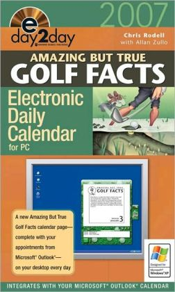 2007 Amazing But True Golf eDay2Day Calendar
