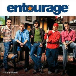 2008 Entourage Wall Calendar