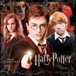 2008 Harry Potter Movie Wall Calendar