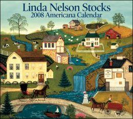 2008 Linda Nelson Stocks Americana Wall Calendar