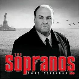2008 Sopranos Wall Calendar