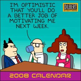 2008 Dilbert Mini Wall Calendar