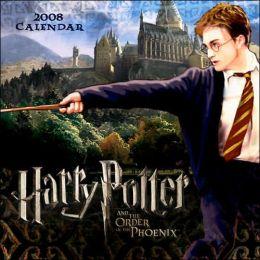 2008 Harry Potter Movie Mini Wall Calendar