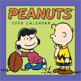2008 Peanuts Mini Wall Calendar