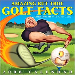 2008 Amazing But True Golf Facts Box Calendar