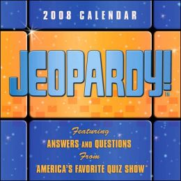2008 Jeopardy Box Calendar
