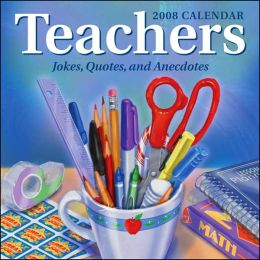 2008 Teachers Jokes Box Calendar