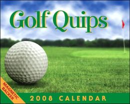 2008 Golf Quips Mini Box Calendar